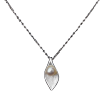 Фото Luo Linglong s925 silver jewelry pearl tree necklace female Korean clavicle chain pendant jewelry