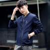Положительный леопард ChunQiuJi новый поток пар бейсбол воротник моде куртка мужской спортивный стиль мужской пиджак