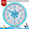 12 Inch Plastic Kids Wall Clock Slient Safe Colorful Cartoon Clcok Children Wall Clock Funny Interesting Child Learn Clock great wall safe suv g5 новый