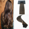 High Quality Straight Ombre Balayage Color #1B#6#1B Brazilian Remy Hair Full Set Hair Wefts Extensions Free Shipping 65 hanks high quality stallion black bow hair 32 inches 6 grams each hank