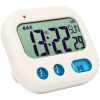 Student Alarm Clock Digital LCD Travel Clock Kitchen Timer Countdown Snooze Full Vision Vibration Table Clock Loud Alarm 3 Alarm build up to countdown student s book