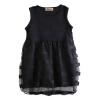 летом детей дети девочек без рукавов максимум потрепать тюль платье платья 2-8y