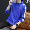 2017 осень новый с длинными рукавами с капюшоном свитер мужские спортивные случайные куртки молодежные куртки спортивные куртки