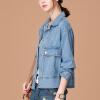 Город плюс CITYPLUS 2017 зима литературный дикий свободный пиджак короткий абзац новый женский сделать старый джинсовый жакет CWWT179253 светло-голубой XL старый новый год с денисом мацуевым