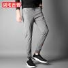 Штаны для брюк с бриллиантовыми футлярами Брюки мужские Брюки повседневные Брюки мужские Брюки мужские 17095ZTX707 Серый XL