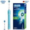 Braun Oral B D16.523U P600 3D электрическая зубная щётка (синий) зубная электрощетка braun oral b vitality 3d white luxe d12 513w