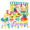 Jiesi Chong Park (Детский CREA-весело) пластилин цвет грязи игрушки ручной работы Детский день подарок конфеты машина мороженого костюм костюм зловещего шута детский 38 40