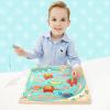 Специальный Boa (topbright) крокодил магнитный лабиринт игрушки, детские развивающие игрушки ребенок мальчик девочка