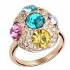 Кольцо с бриллиантами из розового золота с бриллиантами для женщин