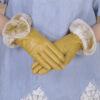 Г - жаовец кожикожаные перчаткизимойтепло