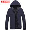Куртка куртки с капюшоном куртки с капюшоном с капюшоном Menland Men Jeep Jack Men 17030Z88 Dark Blue L