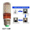 12wтриколорсветодиодные лампочки- (85V-265V~)