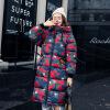 2017 мода новые зимние женские модели хлопок с капюшоном милый куртка куртка куртка камуфляж хлопок куртка теплая куртка куртка