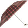 [Супермаркет] рай зонтик стали Jingdong прочного водоотталкивающего классический плед зонтик три складной унисекс 339S сетки плед 7 плед сruise welcom