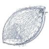 Отшельник 50см диаметра из нержавеющей стали сачок головка из нейлона нити (не сачок стержня) рыба с рыболовными снастями Supplies морепродукты рыба