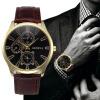часы Relogio Feminino мужчины ложная крокодил кожа Blu - rayчасынаручные часы логан blu ray