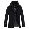 2017 осень и зима мужской длинный раздел случайные ветровка мужской высокого класса отворотом мужская одежда пальто пальто одежда