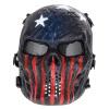 защита череп маску страйкбол пейнтбол полной маску армии игр глаза костюм на хэллоуин или косплей - участник декор щит