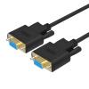 Преимущества (UNITEK) Y-C713ABK DB9-контактный последовательный порт женский удлинительный кабель Последовательный кабель 5 метров DB9 отверстие для отверстия COM-порт удлинительный кабель RS232 кабель