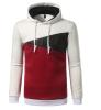 Brand 2017 Hoodie Fall New Spell-Color Hoodies Men Fashion Tracksuit Male Sweatshirt Off White Hoody Mens Purpose Tour XXL женские толстовки и кофты brand new xxl hoodies a