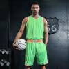 Позитивное Panther баскетбола одежда костюм мужского вариант пустого заказ униформы спортивный костюм костюм пустая тарелка напечатанного размер шрифт
