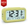 Large Digital Alarm Clock LCD Student Bedroom Electronic Clock Snooze Sensor Kids Table Clock School Product Night Light 2 Alarm lovely rabbit shape digital alarm clock