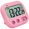 Student Alarm Clock Digital LCD Travel Clock Kitchen Timer Countdown Snooze Full Vision Vibration Table Clock Loud Alarm 3 Alarm 90 260v ac dc digital timer 4 digit display alarm clock countdown time counter chronograph relay output 1 alarm