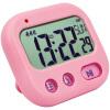 Фото Student Alarm Clock Digital LCD Travel Clock Kitchen Timer Countdown Snooze Full Vision Vibration Table Clock Loud Alarm 3 Alarm 110db loud security alarm siren horn speaker buzzer black red dc 6 16v