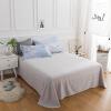 Бая Цзя части белья постельного хлопок саржи простого бамбука Royal Suites применимого 1,8 / 2,0 м двукратный увеличения (240 * 270) deltin suites 4 гоа