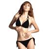Vanker женская сексуальная пуш-ап груди колодки бюстгальтер бикини купальники костюм эластичный бинт