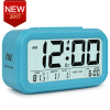 Digital Alarm Clock Student LCD Display Snooze Kids Clock Light Sensor Calendar Temperature Date Nightlight Office Table Clock leap pq9903a digital chess clock with lcd display