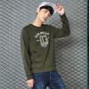 Semir (Semir) свитер мужской 2017 осень новой корейской версии тенденции мужчин вокруг шеи свитер рубашку печатными буквами 19057161221 Army Green L утренний пруд осенью и зимой 2017 корейской версии простой вокруг шеи свитер женский свободный свитер свитер s64n0017a7jm белый размер