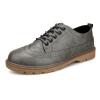 досуг стиль, за ноги и оксфорды, мужские кожаные туфли