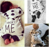 Newborn Baby Boy Girl Infant Warm Cotton Outfit Jumpsuit Romper Bodysuit Clothes 2017 floral baby romper newborn baby girl clothes ruffles sleeve bodysuit headband 2pcs outfit bebek giyim sunsuit 0 24m