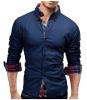 Модные мужские рубашки с длинными рукавами Топы Футболка с длинным рукавом Футболка с длинными рукавами Футболка с длин