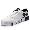 досуг платформы холст обувь, мужские ботинки