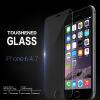 Новые закаленное стекло фильм гвардии протектор экрана для iPhone 6 с 4,7 2 шт лот передней и задней премиум зеркало гальванических закаленное стекло экрана протектор для iphone 6 6 s 4 7 бесплатно доставка