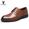 ХуаХуа Гунцзы(PLAYBOY ESTABLISHED 1953)Мужские классические деловые туфли 6CW513009D01 10 франков 1953 года