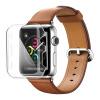 BIAZE яблоко watch1 38мм Apple Наблюдать защитный рукав часы экран охранник стальной оболочки поколение прозрачный царапина для Mac JK169 рукав напорный champion 1 5 38мм 20м c2540