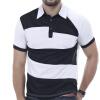 Мужская рубашка поло Бренды Мужчины с коротким рукавом Модные повседневные тонкие индивидуальные цвета рубашка поло printio фк фшм