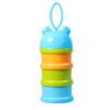 GLAND 3 слоя Портативные детские молочные порошковые ящики для хранения детей Контейнер для хранения продуктов для детей бриз приложение насосная бумага 3 слоя 130 jingdong пользовательской серия мелких экстракции мешка 24