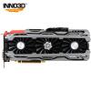 Видеокарта Inno3D iChill GeForce GTX1060 X3 Ice Dragon edition видеокарта asus geforce gtx 1060 1620mhz pci e 3 0 6144mb 8208mhz 192 bit dvi hdmi hdcp rog strix gtx1060 o6g gaming
