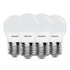 Philips (PHILIPS) Светодиодная лампа Светодиодная лампа 3,5 Вт E27 большой винт рта 6500K белый четыре упаковки лампа светодиодная wolta 25y55bl9 e27