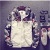 Floral Bomber Jacket Men Hip Hop Slim Fit Flowers Pilot Bomber Jacket Coat Men's Hooded Jackets Plus Size носки nike носки nike running dri fit cushion d
