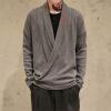 Monk Shirt Вышитый китайский свитер Китайский стиль Тонкий мужской трикотаж кардиган Повседневный Хань Тан Стиль свитер old monk в москве
