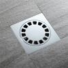 HIDEEP ванные принадлежности Чистая латунь Квадратный круглый Большой поток душ утечка пола hideep дренажи для пола чистое латунь квадратное перекрытие большая панель дренажи для пола