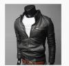 2017 Brand Man Zipper Leather Jackets PU Classic Jaqueta Masculinas Inverno Couro Jacket Men Black Motorcycle Leather Jacket мужской ремень cinto couro marca