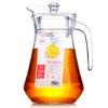 [Супермаркет] Lees Джингдонг Гласс бутылки холодной воды холодильник бутылки большой емкости стекла горшок 1.3L утконоса холодный стакан сока купить горшок для пальмы большой