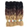 цена  SZC Afro Jumbo Braids Наращивание волос 5-pack 2 Tone & 3 Tone Ombre Вязание крючком для волос с высокой температурой Kanekalon Sy  онлайн в 2017 году