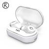 ИКФ F8 отдельного Bluetooth гарнитура спорт бега бинауральной мини невидимого беспроводное реальное ухо Air вива Huawei телефонов просо OPPO Apple, универсальные белым гарнитура для каркам tk f8